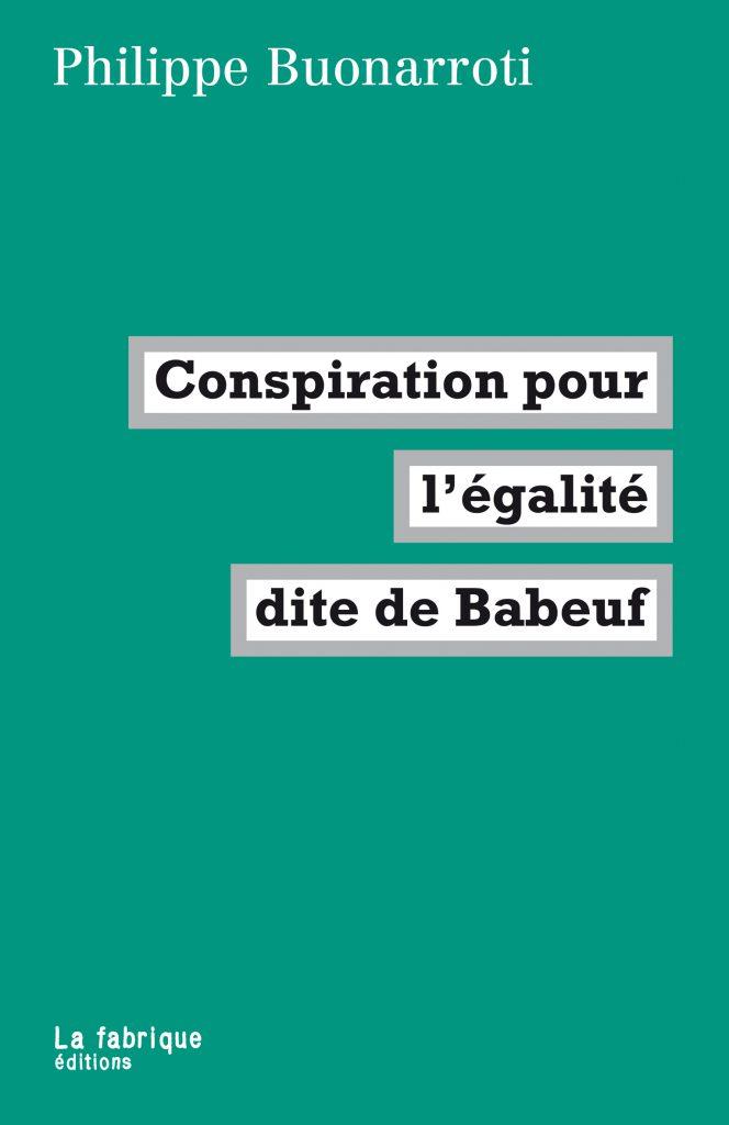 Conspiration pour l'égalité dite de Babeuf