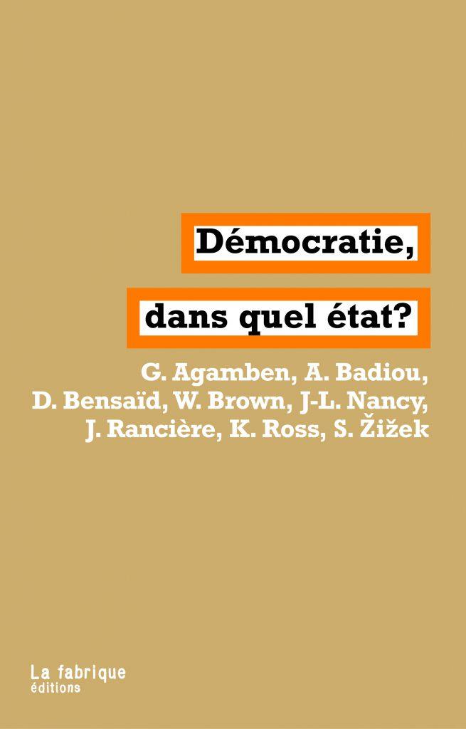 Démocratie, dans quel état ?